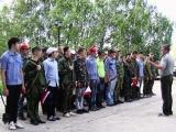 Учебные военные сборы 2013 г.